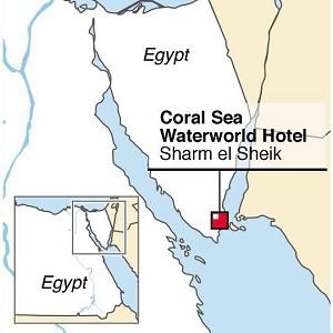 Five-year-old Chloe Johnson died in a waterpark at the Coral Sea Waterworld Hotel in the Red Sea resort of Sharm el-Sheikh, Egypt