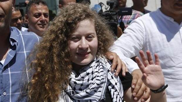 Ahed Tamimi (AP Photo/Majdi Mohammed)