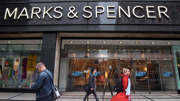 Marks and Spencer will report figures next week (PA)