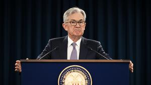 Federal Reserve Chair Jerome Powell announced trillions to help US business (AP Photo/Manuel Balce Ceneta, File)