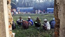 Thousands of Rohingya migrants have fled persecution in Myanmar (AP)