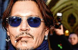 Denies claims: 'Pirates of the Caribbean' star Johnny Depp.