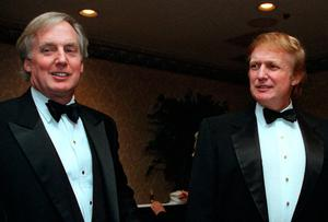 Court: Robert Trump, left, with his brother Donald. Robert claims his niece Mary is precluded from publishing her book under a settlement of an inheritance case. Photo: Diane Bonadreff/AP