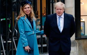 Bundle of joy: Boris Johnson and Carrie Symonds have a new addition at No 10