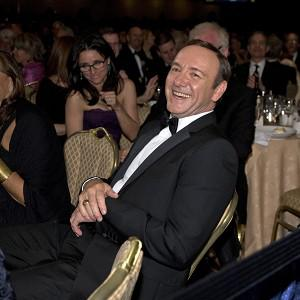 Actor Kevin Spacey at the Washington Hilton Hotel for the dinner (AP)