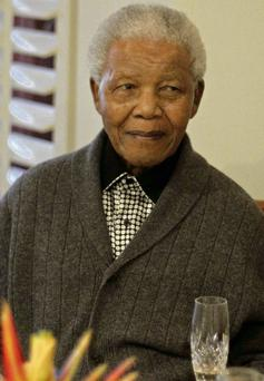 Former South African president Nelson Mandela is now 'critical' in hospital with a lung infection