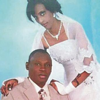 Mariam Ibrahim, who has been sentenced to death in Sudan, and her husband Daniel Wani. Global Justice Centre Sudan