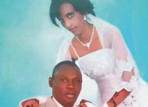 Meriam Ibrahim, who has been sentenced to death in Sudan, and her husband Daniel Wani.Photo: Global Justice Centre Sudan