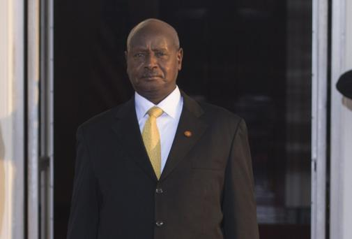 Ugandan President Yoweri Museveni. Photo: Getty