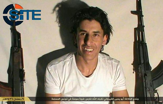 Seifeddine Rezgui who killed 38 tourists at Sousse in June 2015