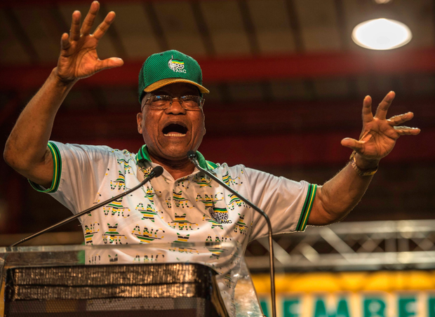 South African President Jacob Zuma has been told to stand down Photo: AFP/Getty Images