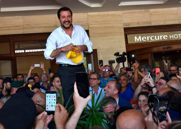 Refugee warning: Italy's new interior minister Matteo Salvini