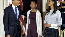 Elizabeth Lauten, spokeswoman for Stephen Fincher, a Republican Congressman from Tennessee, posted on Facebook a highly personal attack on the girls' appearance and attitude, scolding Malia (16) and Sasha Obama (13), for looking bored while attending a public event with their father last week (REUTERS/Gary Cameron)