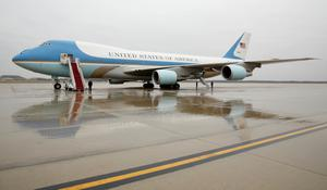 Air Force One, the most iconic 747 of all?