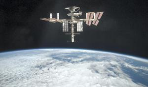 The International Space Station, part of which had to be evacuated following a leak yesterday