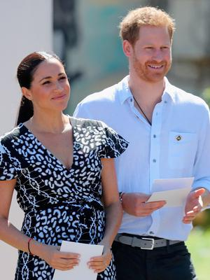 Prince Harry and Meghan. Picture: Getty
