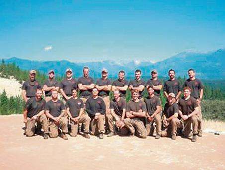 Elite fire-fighting team the Granite Mountain Hotshots