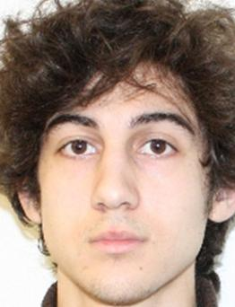 Dzhokhar Tsarnaev: faces 30 charges in bombings that killed three and injured 260 people.