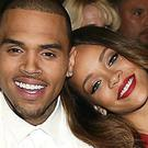 Chris Brown with on again, off again girlfriend Rihanna