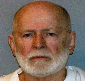 Bulger's mugshot after his arrest in 2011