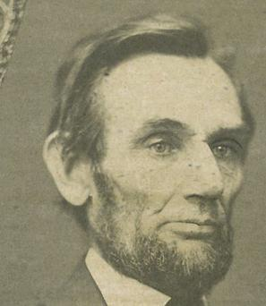 Abraham Lincoln: made famous Gettysburg address