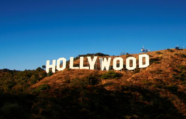 ICONIC: The Hollywood sign in California