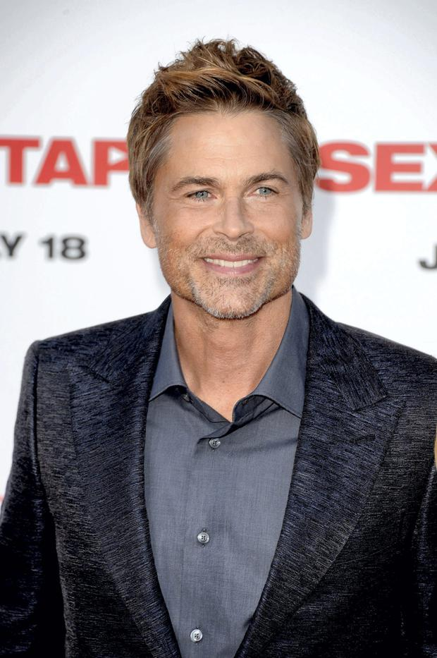 Rob Lowe complained about how tough it had been to further his career because of his good look