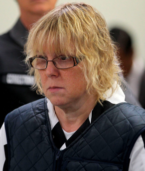 Joyce Mitchell is accused of smuggling in hardware parts to help two murderers escape from a New York prison