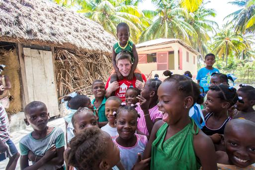 Rugby legend Ronan O'Gara visiting Haiti with Irish charity Haven