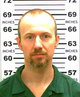 Hospitalised: David Sweat