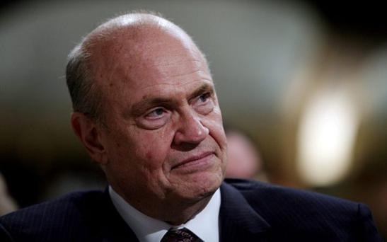 Authority figure: Fred Thompson in 2007