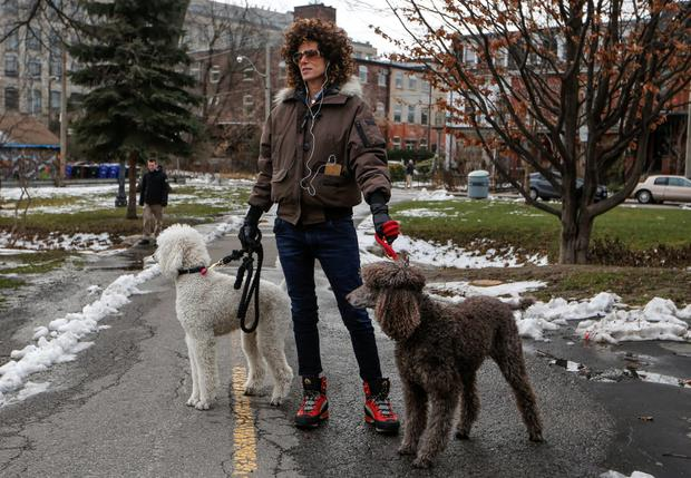 Andrea Constand, who accuses Bill Cosby of sexually assaulting her, walks in a park in Toronto. Photo: Reuters