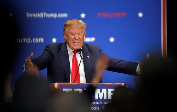 Republican Donald Trump wants a ban on Muslims entering the US. Photo: Gretchen Ertl