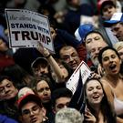 Donald Trump supporters at a campaign rally in Albany, New York. Photo: Reuters/Mike Segar (Reuters)