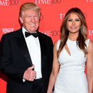 Republican presidential candidate Donald Trump and his wife Melania Trump attend the Time 100 Gala in New York Photo: Evan Agostini/Invision/AP