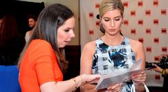 Forbes Media Executive Vice President Moira Forbes and businesswoman Ivanka Trump