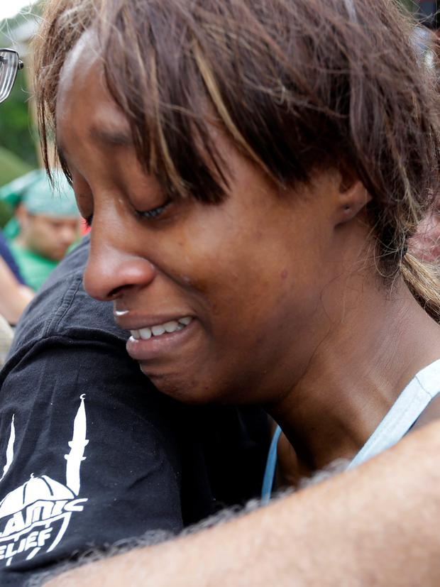 Lavish Reynolds, the girlfriend of Philando Castile, who was in the car with her daughter when he was shot dead