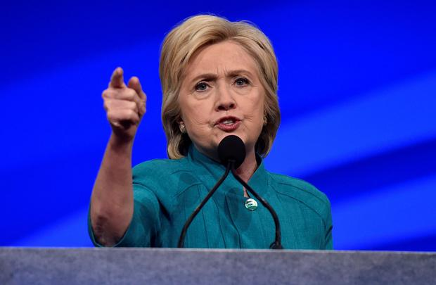 Hillary Clinton has now come to be seen as part of the establishment