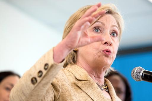 Hillary Clinton. Photo: AP Photo/Andrew Harnik