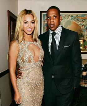 Beyonce and Jay Z were due to appear at an event with Hillary Clinton