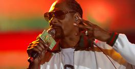 Rapper Snoop Dogg. Photo: Reuters