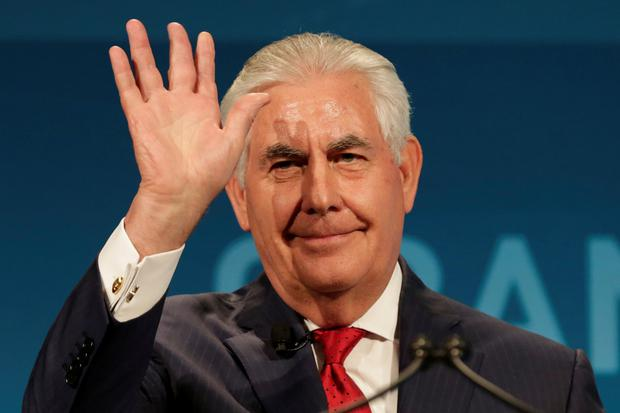 Secretary of State Tillerson. Photo: Reuters