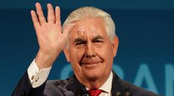 Secretary of State Tillerson. Picture: Reuters