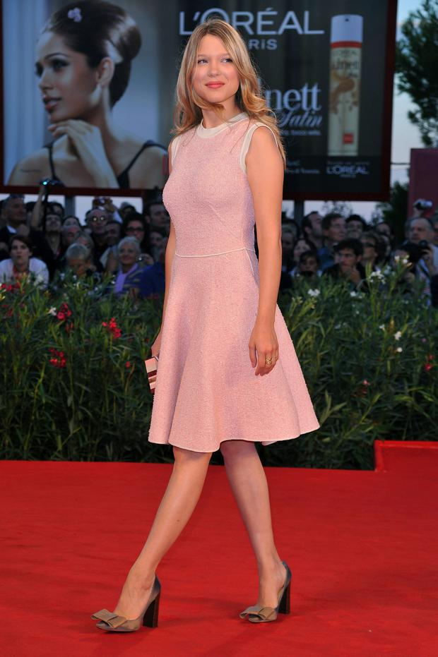 Actress Lea Seydoux Photo: Getty Images