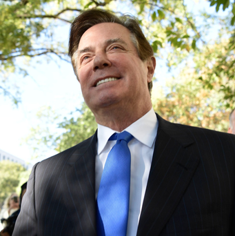 Trump's former campaign manager Paul Manafort. Photo: Getty Images