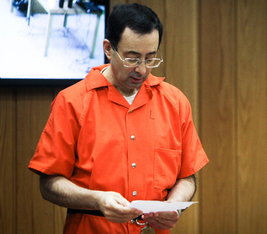 Larry Nassar. Photo: AP
