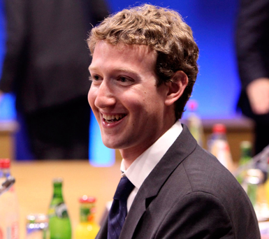 Facebook founder and CEO Mark Zuckerberg is under pressure. Photo: PA