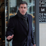 President Trump's personal lawyer Michael Cohen leaves a hotel in New York yesterday. Photo: Reuters
