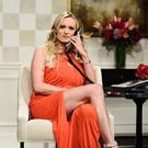 Porn actress Stormy Daniels during a recent appearance on 'Saturday Night Live' in New York. Photo: Will Heath/NBC via AP