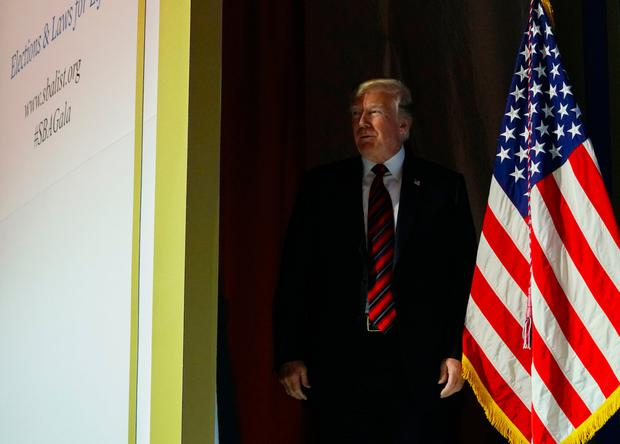 """""""Spygate could be one of the biggest political scandals in history!"""" President Trump tweeted. Photo: AP"""